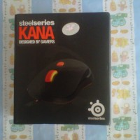 SteelSeries Kana Black Gaming Mouse