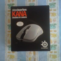 SteelSeries Kana white Gaming Mouse
