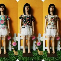 dress tutu bunga