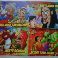 Buku Komik Lokal Cergam (Cerita Berganbar)