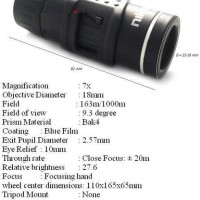 Compact Monocular Nikula Black KM3-7X18
