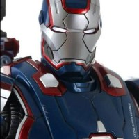 12 INCH HOT TOYS - IRON PATRIOT DIECAST