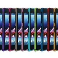 Casing Sony Xperia Z1 - Case Allumunium Bumper Merk Love Mei