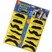 kumis palsu/ Fake Moustache Self Adhesive Mustache Fancy Dress Party Fun Rogue boy