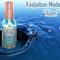 Air Ion Perak (Ag+) Ionic Silver Water S60