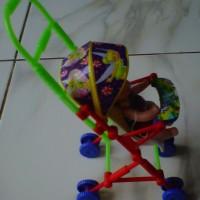 Mainan Stroller Baby (Dorongan Bayi)