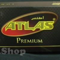 Peci Atlas hitam
