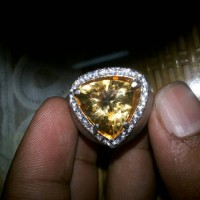 Gemstone Citrin Yellow