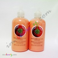 THE BODY SHOP - STRAWBERRY PUREE BODY LOTION 250ml Asli100%