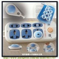 Electrical security lock key pengaman stop kontak listrik bayi baby care plastik safety first kunci pengamanan jari anak anda