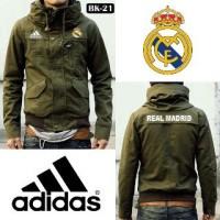 Jaket Parka Real Madrid