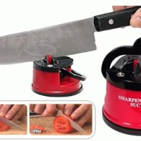 Asahan Pisau with suction pad knife sharpener kleva barang unik peralatan dapur masak master chef koki