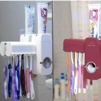 dispenser odol portabel tooth paste sikat gigi kamar mandi bersih higienis fleksibel aman dari kuman
