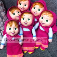 Boneka Marsha / Masha and the Bear Imut Bahan Karet