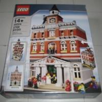 Lego Creator Town Hall 10224. BNIB Segel