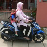 Alat Pelindung Bonceng Motor Anak - Anannda Safety Rider