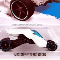 HOT WHEELS HOTWHEELS MAX STEEL TURBO RACER