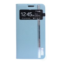 Fashion Design Case for Samsung S4 Leather case with Model S-View window and STAND position support 7 color choice