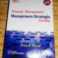 Manajemen Strategis Konsep, Fred R. David