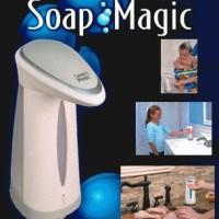 Dispenser Sabun Otomatis Magic Soap Alat cuci tangan otomatis wastafel kebersihan tangan IDI sabun cair liquid lifebuoy detol