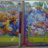 Buku Mewarnai Anak New Edition Size S