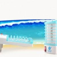 Jual Lampu Nyamuk LED Biru Blue Colok Listrik Electricity Electronic Mosquito Repeller tanpa bau asap household kamar tidur Murah