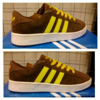 Adidas Gazzle Brown Yellow
