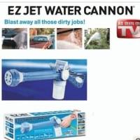 Semprotan Air EZ Jet Water Cannon Pressure Wireless dengan 8 jenis model yang dapat diganti ganti dengan memutar ujung spray