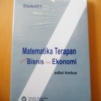 Matematika Terapan untuk Bisnis dan Ekonomi, Dumairy