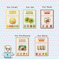 Kartu Pos Kue Tradisional Indonesia