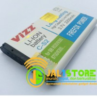 C-S2 2200mAh Gemini Battery/Baterai Blackberry (BB) Vizz Double Power C-S2 2200mAh (Gemini / Aries / Kepler)