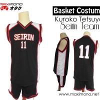 Jersey kostum Basket Seirin Kuroko no Basket