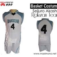Jersey kostum Basket Rakuzan Kuroko no Basket