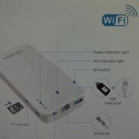VIVAN IP-F 09 : Power Bank 9000mAh ( wi-fi extender )