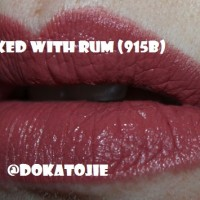 Wet N Wild Megalast Lip Color Spiked With Rum (915B)