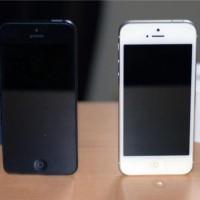 Iphone 5 64 GB Hitam dan Putih