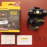 NITECORE HC50 - Head Lamp - Senter Helm - Hiking - Climbing - Outdoor