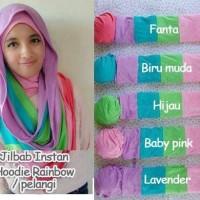 Jilbab Rainbow / Pelangi