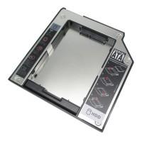 2nd HDD hard drive Caddy For LENOVO Thinkpad Ultrabay Slim 9.5mm