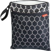 Skip Hop GRAB & GO Wet/Dry Bag - Onyx Tile