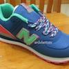 SALE Sepatu New Balance NB 574 Blue Candy Kets