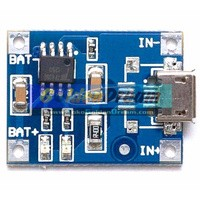 TP4056 Micro USB to Lithium Battery Charging Module Output 5V 1A Charger Modul Cas Batere Baterai Rechargeable