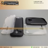 MOTOROLA MOTO G SOFT CASE S-LINE - LAPAKOYA Rajanya Case, Casing & Flip Cover : Nillkin SGP Rockphone Capdase