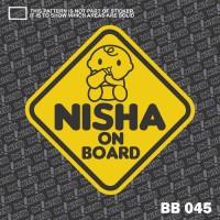 Baby on Board Sticker - BB 045