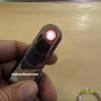 Jual korek api elektrik USB lighter gantungan kunci model Flash Disk Murah