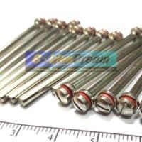 Jual Batang As Pemegang Mata atau Batu Gerinda Arbor Shaft untuk Mini Rotary Tool Mesin Bor Gerenda Tuner Murah