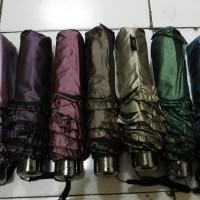 Payung Lipat Renda Polos Metalic 331