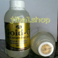 Jelly Gamat / Gold G Sea Cucumber Jely Original 500 ml ( Herbal Alami Asli Ekstrak Teripang Laut Produksi GNE, Bio, Jeli, Emas )