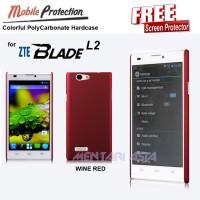Hardcase ZTE Blade L2 : MP Colorful PolyCarbonate Hardcase ( + FREE SP)