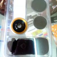 Universal Clip Lens 3 in 1 untuk All type Handphone / Tablet